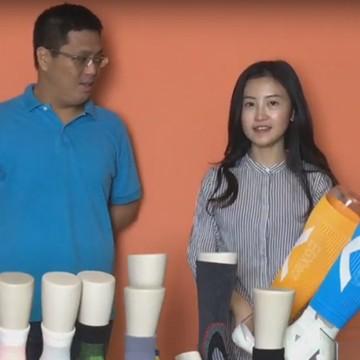 『繃帶運動襪分類解說』X型繃帶系列