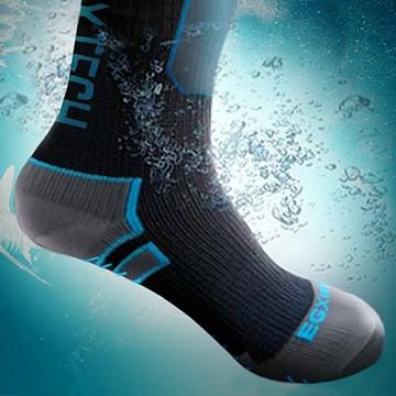 『WP破浪者防水機能襪 野溪實測』