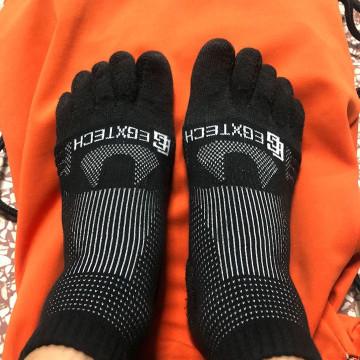 【開箱測試文】EGXtech P82FT 中筒8字繃帶五趾運動襪