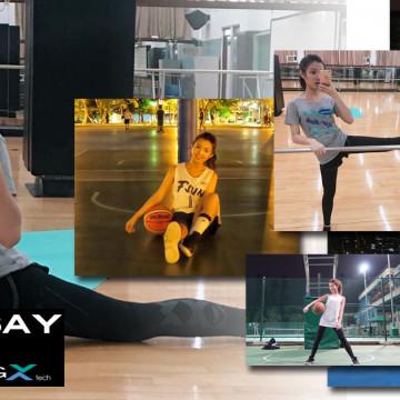 『EGXtech People』熱愛籃球的甜美女孩 歡歡