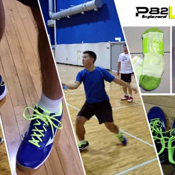 提升動能效率的羽球襪 EGXtech 八字繃帶襪P82L