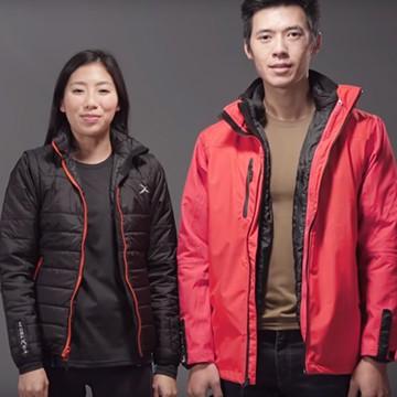 EGXtech獨家專利技術打造RainStorm極致防水保暖外套系列