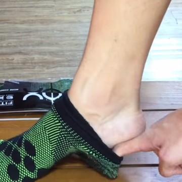 將8字繃帶運動襪好好穿上!完整包護您的腳-提升最佳防禦力