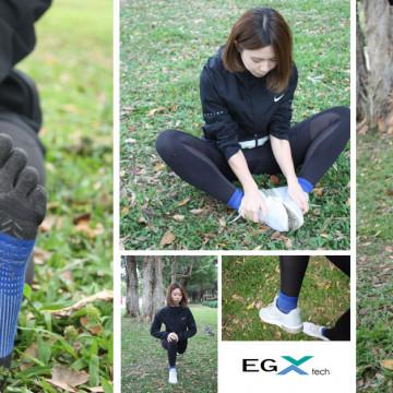 P82FT 8字繃帶五趾襪 安全感UP 超細膩的包覆與保護