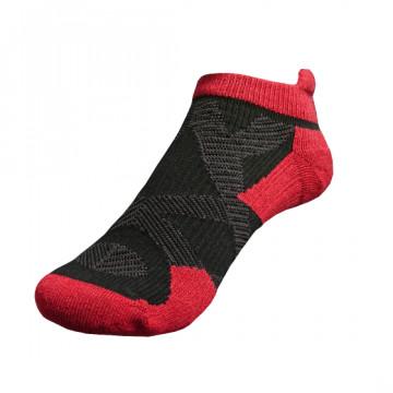 2X 強化穩定壓縮踝襪(黑/紅)-S號