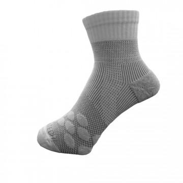 《8字繃帶》P83 中統多功8字繃帶運動襪AIR(白/灰)
