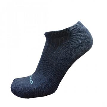 Basic機能抗菌除臭踝襪(麻花藍)