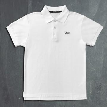Fit系列/ES-1P 運動POLO衫(白)