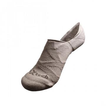 2X 強化穩定壓縮隱形襪(灰)