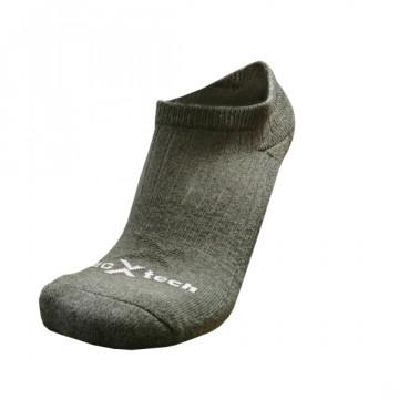 Basic機能抗菌除臭踝襪(鋼鐵灰)