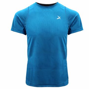 EDS-EXT 男款涼感單導排汗短袖(藍)
