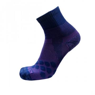 《8字繃帶》P83 中統多功8字繃帶運動襪AIR(丈青/紫)-僅剩XL號