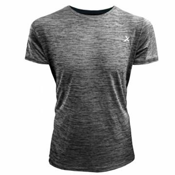 EDS-ET Classic 男款單導排汗短袖(麻灰)-經典一般袖