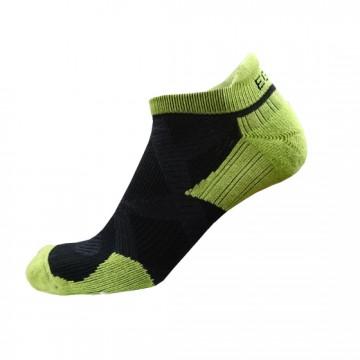 2X 強化穩定壓縮踝襪(黑/綠)