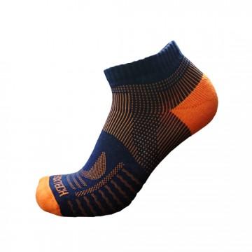 《8字繃帶》P81 短統多功8字繃帶運動襪(丈青/橘)