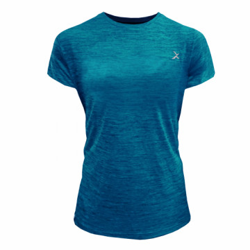 EDS-ETW Classic 女款單導排汗短袖(麻綠)-經典一般袖
