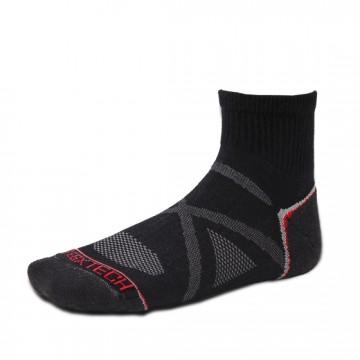 Basic 多功能中筒運動機能襪(黑)
