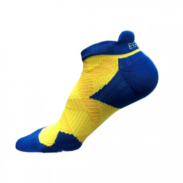 2X 強化穩定壓縮踝襪(黃/藍)