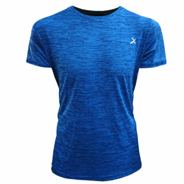 EDS-ET 單導排汗短袖(麻花藍)-經典一般袖