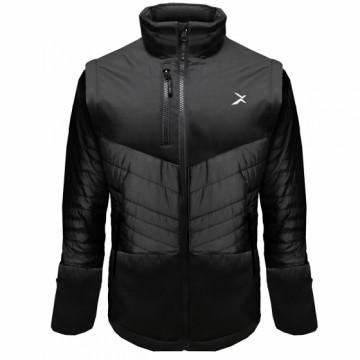 UV-2PLUS 男款變色龍2 IN 1高效保暖外套(黑/黑)