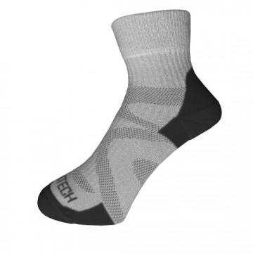 Basic 多功能運動機能薄襪(黑/灰)