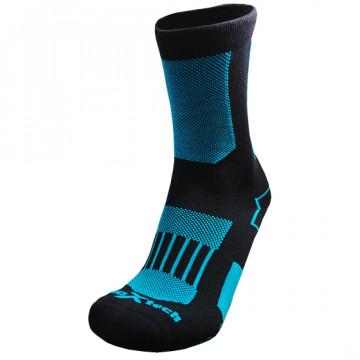WP 破浪者中筒防水機能襪(黑藍)