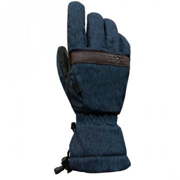 WG-SK 保暖防水手套(麻藍)