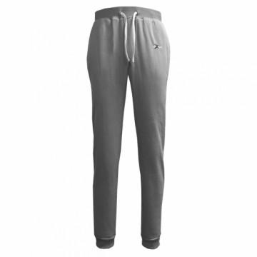 BHFW-女款鬆軟刷毛長褲(灰)
