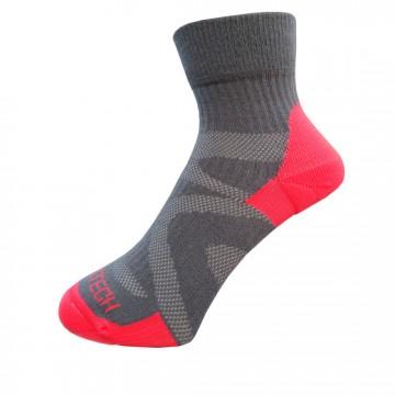 Basic 多功能運動機能薄襪(亮橘)