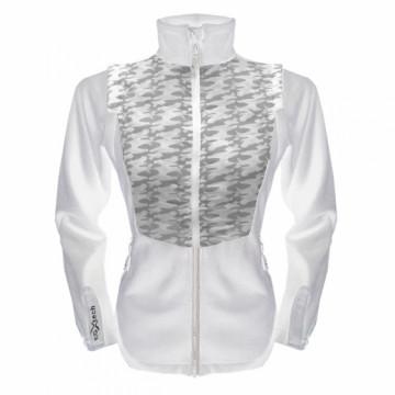 UV-2WSPORT 女款變色龍2 IN 1運動保暖外套(迷彩白)