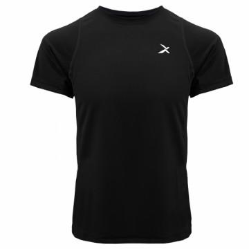 EDS-EXT 男款涼感單導排汗短袖(黑)