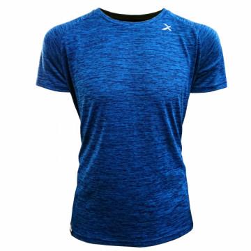 EDS-EPIC 單導排汗運動短袖(麻花藍)-拉克蘭袖