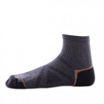 Basic 多功能中筒運動機能襪(灰/橘)