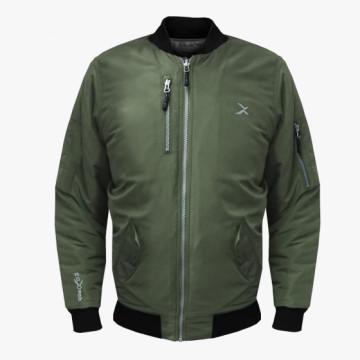 BJ-MA1經典飛行保暖夾克(軍綠)