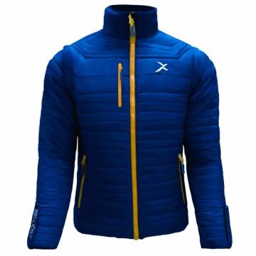 UV-2 男款變色龍2 IN 1高效保暖外套(丈青/黃)