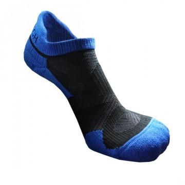 2X 強化穩定壓縮踝襪(黑/藍)-S號