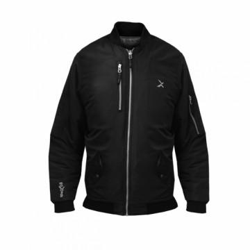 BJ-MA1W女款經典飛行保暖夾克(黑)