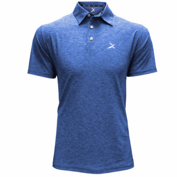BPF-C 男款涼感POLO衫(麻花藍)