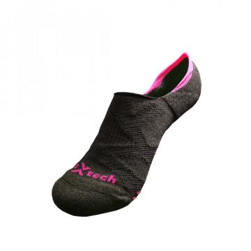 2X 強化穩定壓縮隱形襪(桃紅)