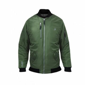 BJ-MA1W女款經典飛行保暖夾克(軍綠)