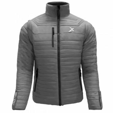 UV-2 男款變色龍2 IN 1高效保暖外套(鐵灰)