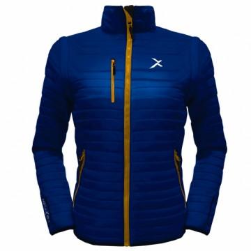 UV-2W 女款變色龍2 IN 1高效保暖外套(丈青/黃)
