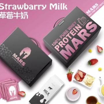MARS 低脂乳清蛋白草莓牛奶口味(60份)