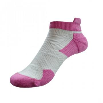 2X 強化穩定壓縮踝襪(粉紅/白)-XS和S號