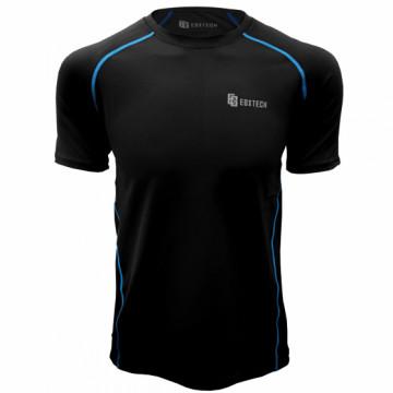 EDS-1男款隧道式排汗衣(黑/電光藍)