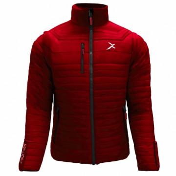 UV-2 男款變色龍2 IN 1高效保暖外套(紅/黑)
