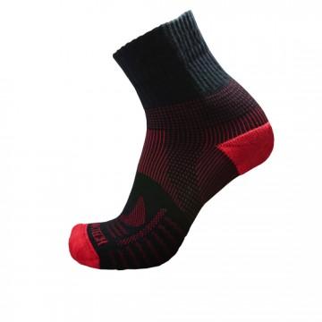 《8字繃帶》P82 中統多功8字繃帶運動襪(黑/紅)