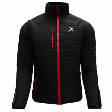 UV-2 男款變色龍2 IN 1高效保暖外套(黑/紅)