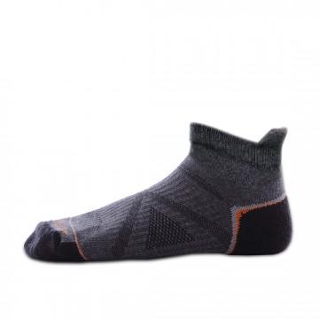 Basic 多功能運動機能踝襪(灰/橘)