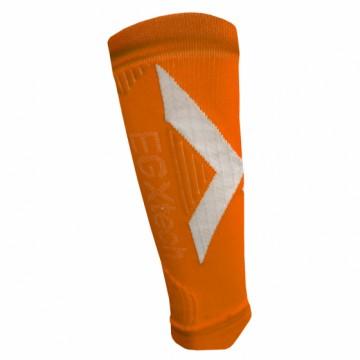CCS-1 分段加壓運動小腿套(橘/白)